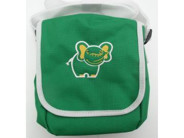 Kindergartentasche Grün mit Elefant