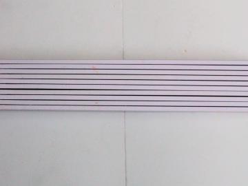 Zollstock Weiß mit Lasergravur