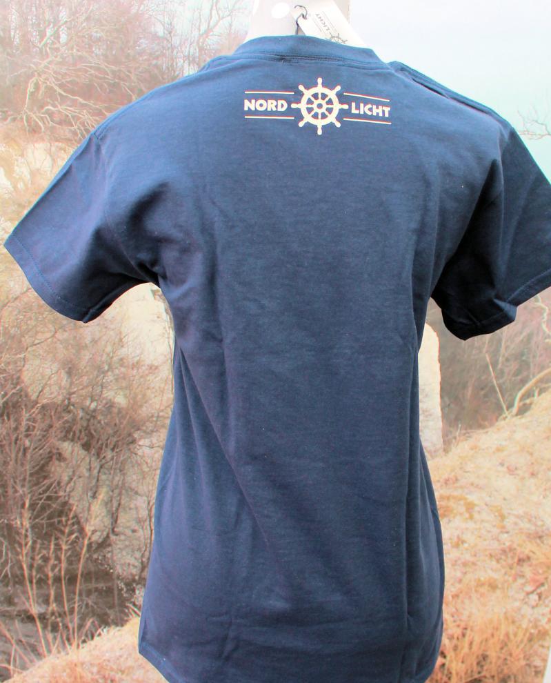 T-Shirt Nordlicht navy