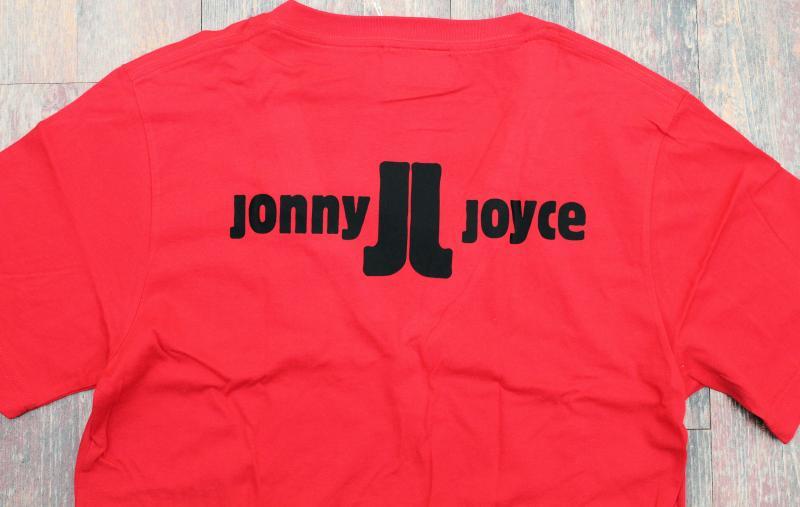 T-Shirt Rot tiefer Ausschnitt Jonny Joyce