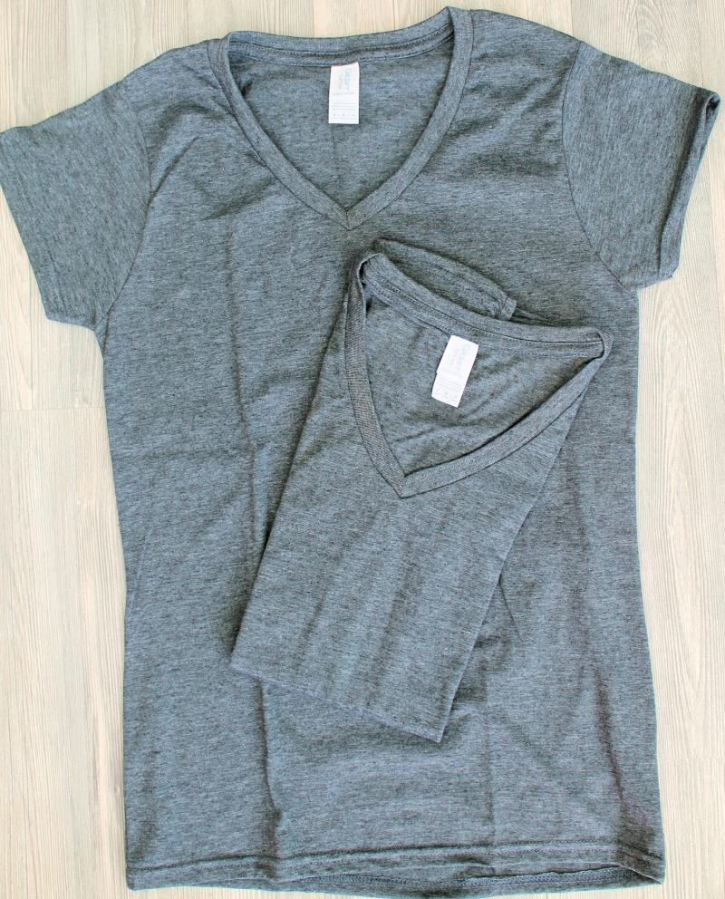 2 x Gildan Lady´s T-Shirt M Grau Baumwolle Deluxe Softstyle Ring Spun