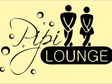 Pipi Lounge auf A4 Blatt