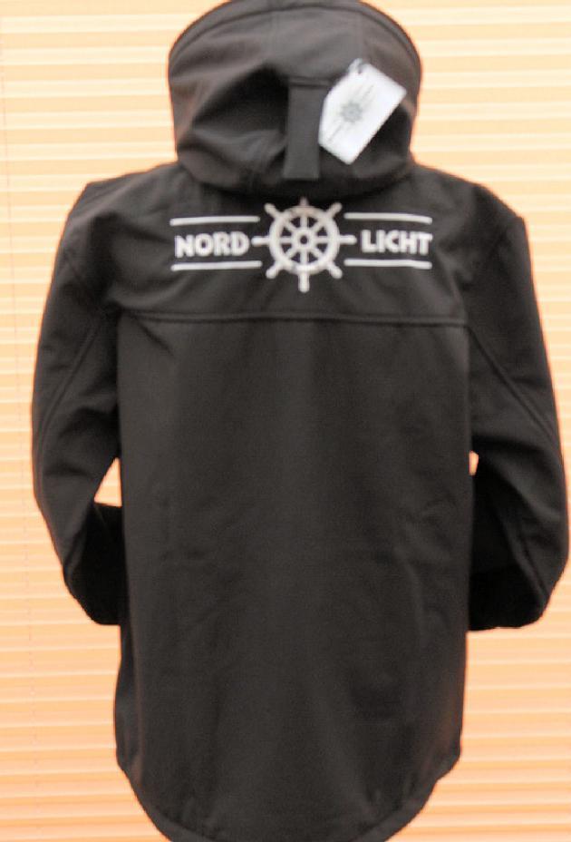 Softshelljacke Nordlicht Schwarz