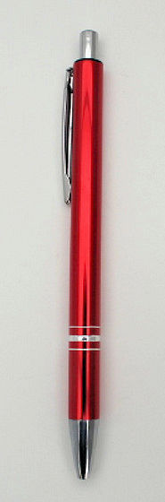 10 Kugelschreiber Metall mit Gravur verschiedene Farben