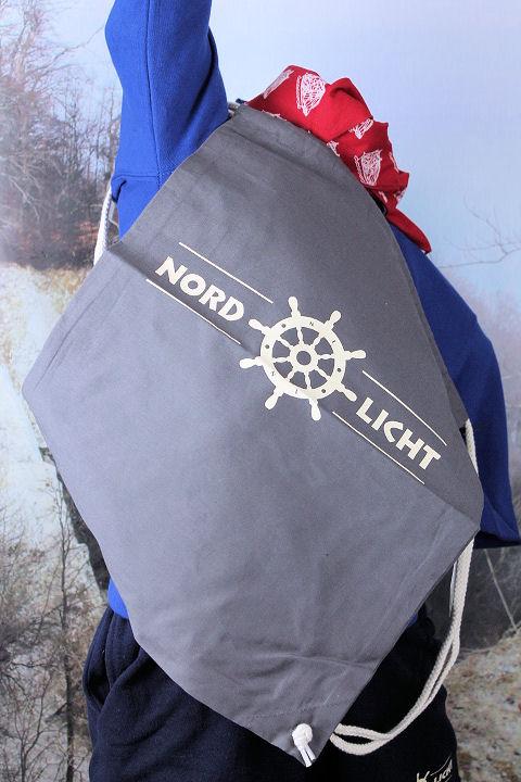 Rucksack Nordlicht grau