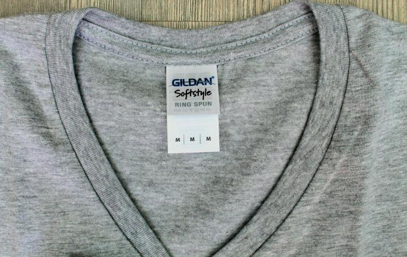 3 x Gildan Herren T-Shirt M SchwarzGrau Baumwolle Deluxe Softstyle Ring Spun