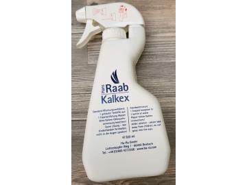 Kalkex Leerflasche zum richtigen mischen des original Kalkex
