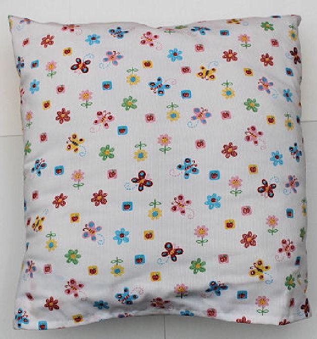 Kissenbezug Blumen 40 x 40 cm