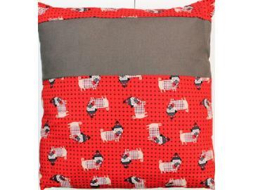 Kissenbezug Hunde 40 x 40 cm