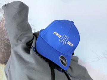 Result FlexCore Cap Blau mit Stickerei Jonny Joyce