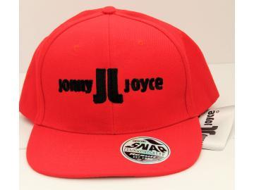 Result Core Cap Rot mit Stickerei Jonny Joyce