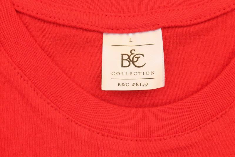 T-Shirt Lady´s B&C Collection Rot