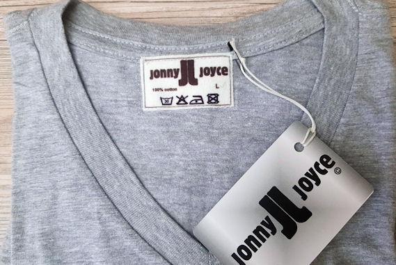 T-Shirt Grau Jonny Joyce
