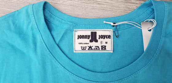 T-Shirt Lady Türkis Jonny Joyce