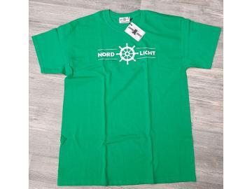 T-Shirt Grün Nordlicht