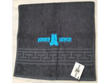 Handtuch mit Stickerei JJ